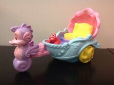2012 Fisher Price Little People Disney The Little Mermaid Ariel's Musical Coach