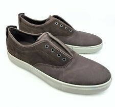 ECCO Men's Kyle Suede & Leather Slip-on Laceless Sneakers sz: 47 US 13 - 13.5