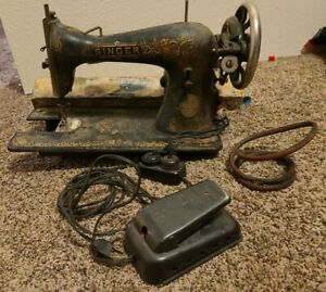 Vintage Singer Vintage Singer Sewing Machine A61256