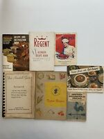 Vintage Lot Of 7 Recipe Books House Hold Tricks Tested Recipes Household Guide