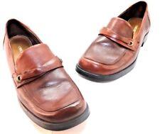 Cherokee Brand Womens Slip On Bonita Casual Brown Comfort Loafers Size 9