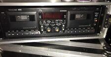 TASCAM 302 Professional Double Auto Reverse Cassette Deck - Recorder/Player