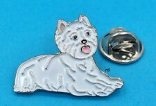 Westie West Highland White Terrier Dog Breed Lovers Adorable Tack- Lapel Pin