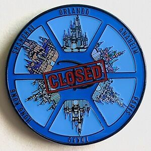 Disney Challenge Coin - Disney Security Global Shutdown 2020 - Global Security
