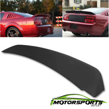 For 2005 2009 Ford Mustang Gt500 Ducktail Style Black Matte Rear Trunk Spoiler Fits Mustang
