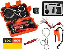 Survival Kit 7in1 Notfall Self Help Box Set Außen Notfall Survival Set  8574