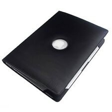 NEW BLACK Apple MacBook Air 13.3 Black Leather Sleeve Case MBA 13 13.3 Leather