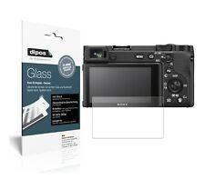 2x Sony Alpha 6600 Schutzfolie matt - Anti-Shock 9H Folie dipos Glass