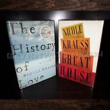 The History of Love , Great House by Nicole Krauss [SET]