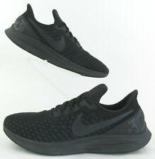 Nike Air Zoom Pegasus 35 Running Shoes Triple Black US 11 Fits US 10.5
