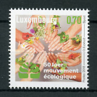 Luxembourg 2018 MNH Mouvement Ecologique 1v Set Nature Environment Stamps