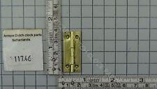 BULLE FAVRE FRENCH ELECTRICAL IMPULSE CLOCK ORIGINAL BRASS HINGE