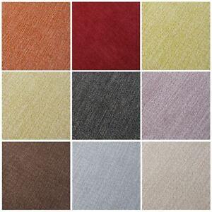 Athletico Velour Chenille Plain Soft Melange Heavy Curtain Upholstery Fabric