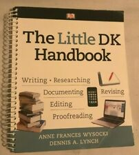 The Little DK Handbook 1st Edition by Wysocki Lynch Spiral Paperback 2012