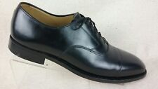 Johnston Murphy Men's 10 B Black Leather Cap Toe Oxford Dress Shoes R5-S 4