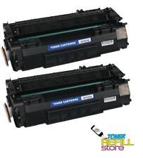 2PK Premium Compatible Q7553A Toner Cartridge for the HP LaserJet P2015 P2015dn