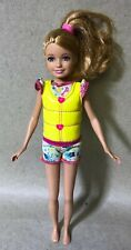 Mattel Barbie Sisters Wave Ride Stacie Doll - Euc!