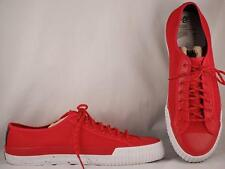 PF Flyers Lo Round Toe Red Canvas Sneakers US 11 EUR 45 UK 10.5