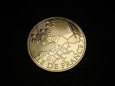 TRES  BELLE PIECE DE  10 EUROS DES REGONS 2010 ILE DE FRANCE