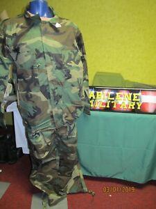 Military BDU Pants Jacket Coat Water Resistant Wind Chemical Resistant 2xl