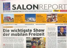 Salonreport Caravan Salon Düsseldorf 1 Ausg. Sept 2003 Reisemobile Wohnmobile