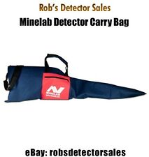 Minelab Metal Detector Soft, Padded Metal Detector Carry Bag - Free Shipping