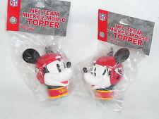 ANTENNA TOPPER Kansas City Chiefs SET of 2  MICKEY MOUSE