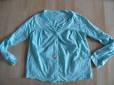CHIPIE schöne Shirtjacke mintgrün Gr. 128 TOP KJ1