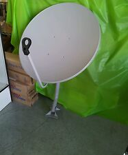 "(Lot 2 of Dish Sets) 30""x34"" Oval  Ku Band Satellite Dish Antenna w/ Dual LNB"