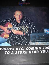 MARK KNOPFLER Coming Soon DCC 1992 Promo Poster Ad mint condition