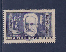 nf7/ timbre France chomeurs intellectuels  Victor Hugo    neuf  num: 383  **