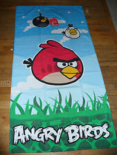 New Angry Birds Beach Bath Towel Plush Cute!!