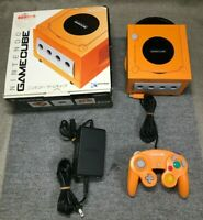 Nintendo GameCube - BOXED- Spice Orange Console (NTSC-J)