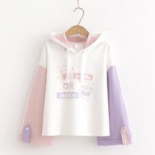 Kawaii Clothing Ropa Harajuku Hoodie Milk Juice Preppy Style Pullover Sweatshirt