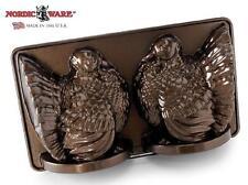 "Nordicware 3D BRONZE TURKEY Bundt Cake Pan 15"" THANKSGIVING Holiday Centerpiece"