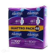 Always Ultra Long 24 Quattro Pack 48
