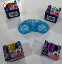 "Plastic Magic Coil Spring Children's Toy 3"" Choice Of 6 Colors Remember Slinky"