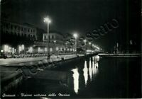 Cartolina di Siracusa, panorama dal mare (notturno)