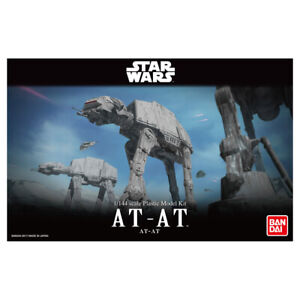 Bandai 01205 Star Wars AT-AT Combat Walker Sci-Fi Plastic Scale Model Kit 1/144