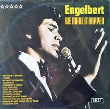 ENGELBERT HUMPERDINCK - WE MADE IT HAPPEN - GERMAN PRESSING - STEREO LP - 1970