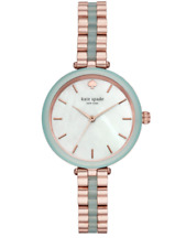 Kate Spade Women's Holland Mint Green Stainless Watch KSW1424 NEW IN BOX!!