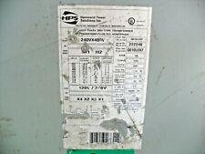 Hps Q010lekf Transformer 10kva 1ph 240 X 480 Pri120240 Sec
