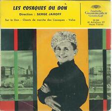 45 TOURS     4 TITRES / LES COSAQUES DU  DON        B6