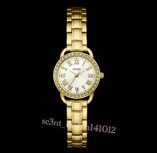 AUTHENTIC GUESS LADIES' DRESSY WATCH GOLD TONE W0837L2 RRP:$379 BRAND NEW