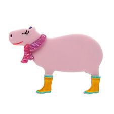 by Erstwilder * South American Socialites Sweet Sara The Capybara Resin Brooch