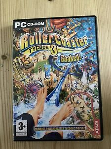 Rollercoaster Tycoon 3: SOAKED! (PC Windows) - Expansion