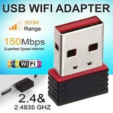 Mini 150Mbps USB Wifi Wireless LAN Internet Dongle Adapter 802.11 n/g/b Network