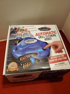 Grillbot Automatic Grill Cleaning Robot / with charger. BLUE!!