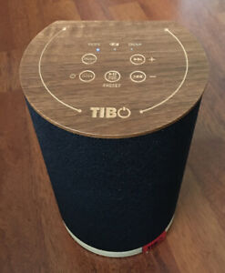 Tibo Vogue 1 Portable Wi-fi Bluetooth Speaker.