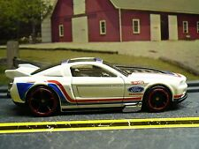 2013 Ford Mustang GT Drag Car, White Red & Blue